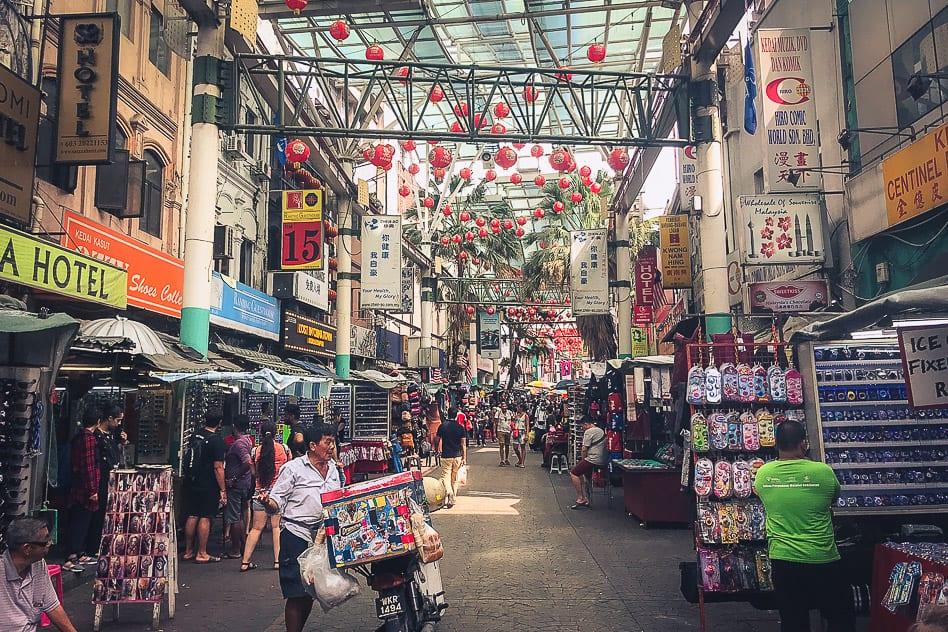 Shopping Jalan Petaling Chinatown Kuala Lumpur