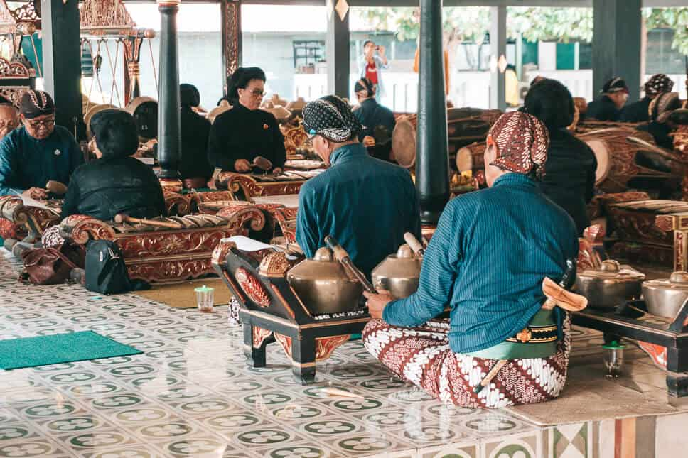 Traditional Ceremony at the Kraton in Yogyakarta