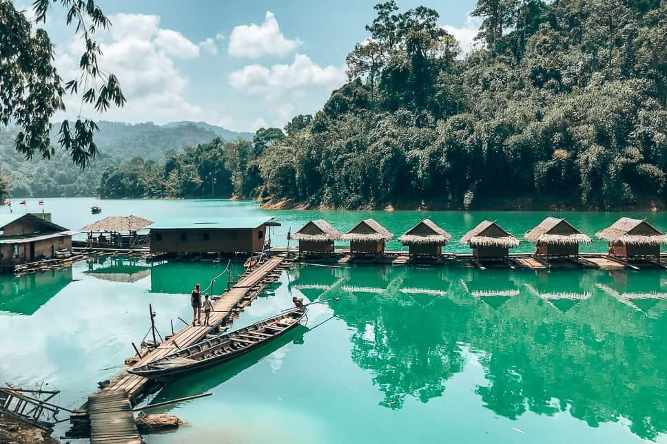 Khao Sok Lake Bungalows Tour Family Kids