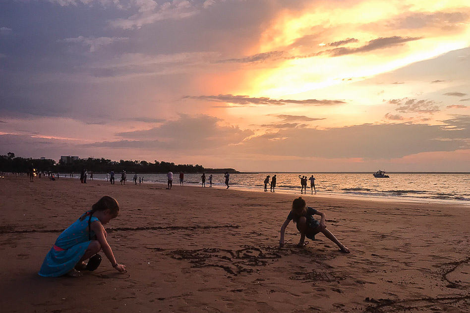 Darwin Northern Territory Mindil Beach Sunset