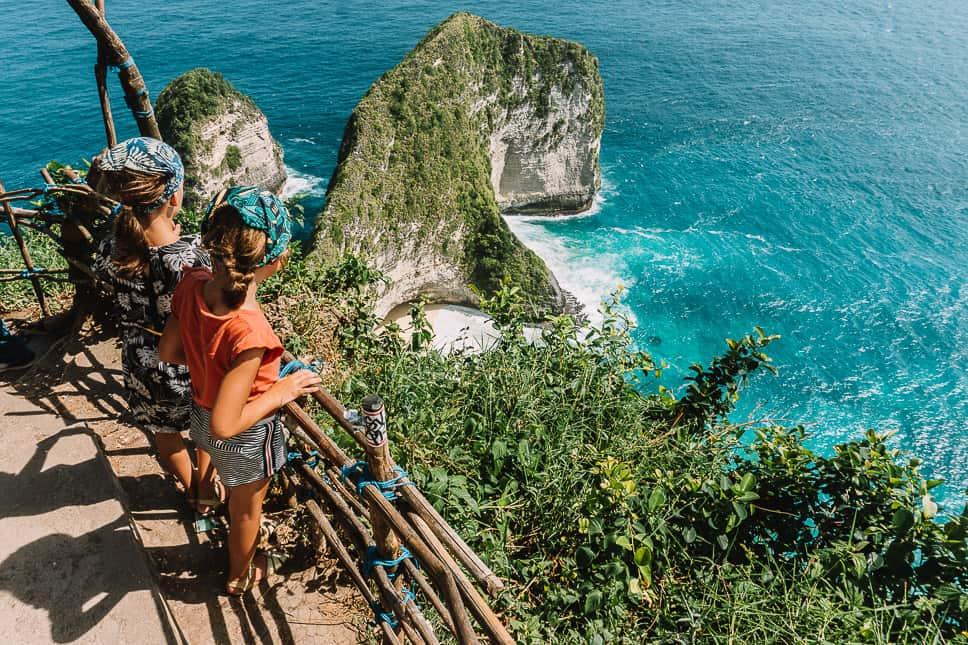 Nusa Penida T-Rex Kelingkling beach