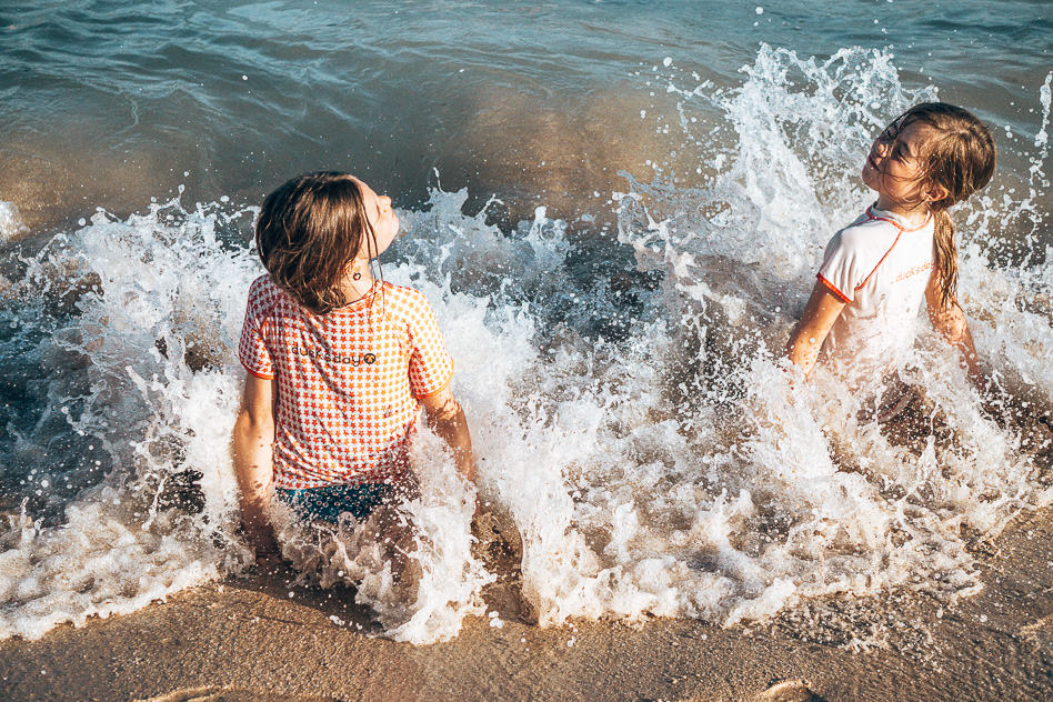 Coogee Beach Sydney Kids Playing Walk