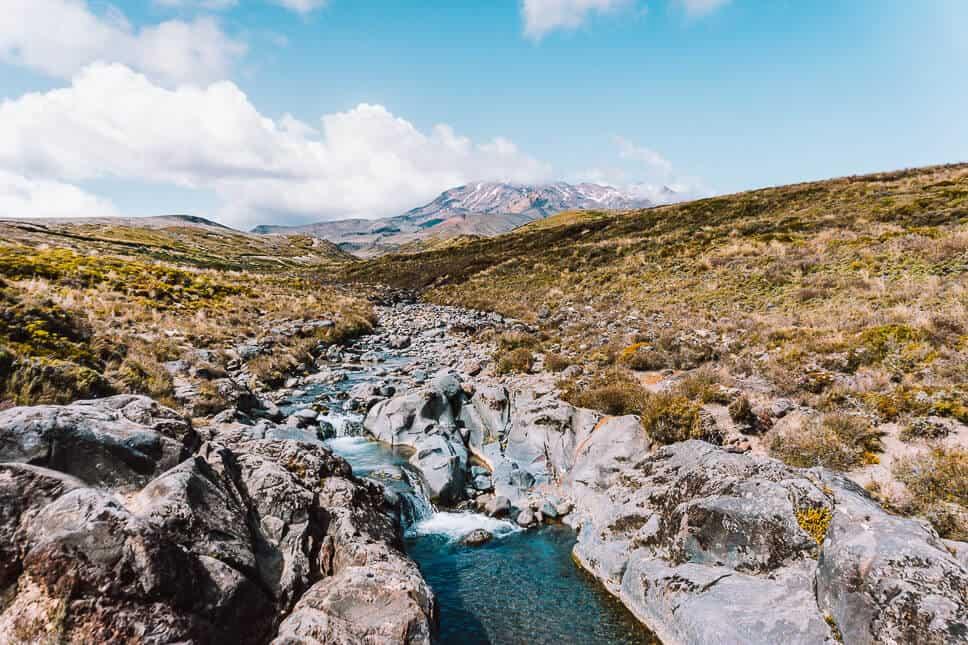 Ruapehu Volcano Tongariro National Park