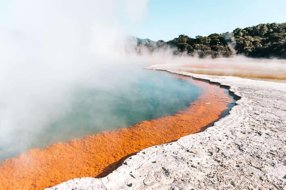 Thermal Area Rotorua Wai-o-tapu Champagne Pool