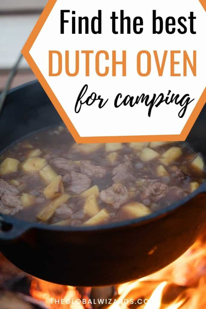 Best Dutch ovens for camping cooking outdoor