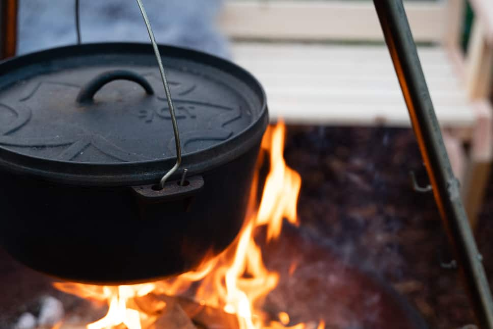 Dutch oven for camping Review