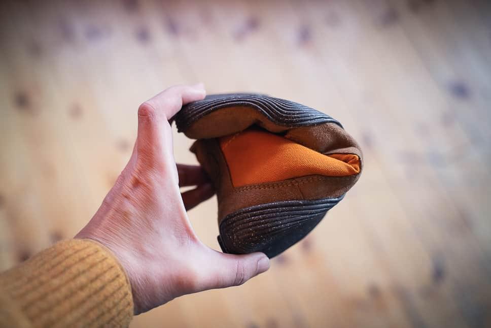 Minimalist shoes natural flexible sole