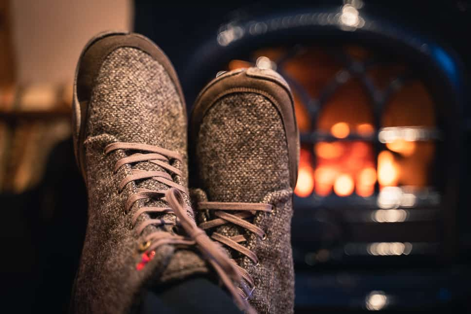 Minimalist winter shoes waterproof warm