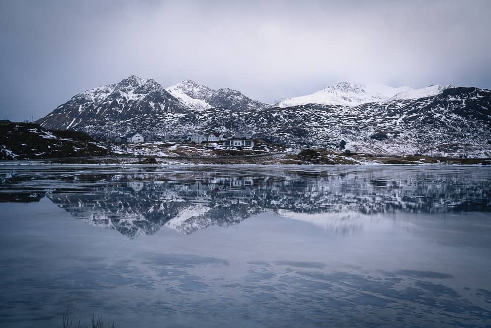 Reflections Mountains Discover Lofoten Photography