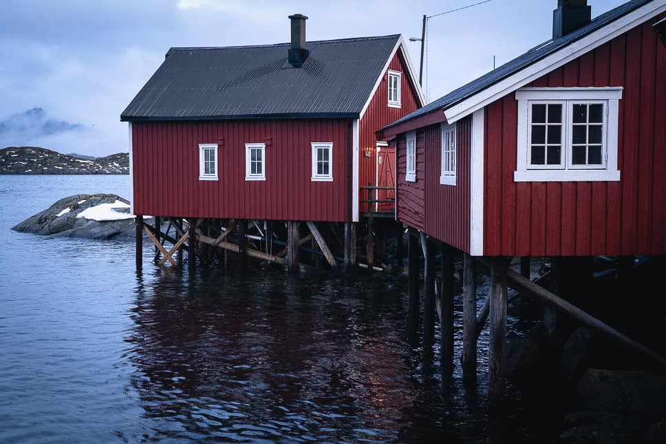 Svinøya Rorbuer Cabins Fishermen Lofoten