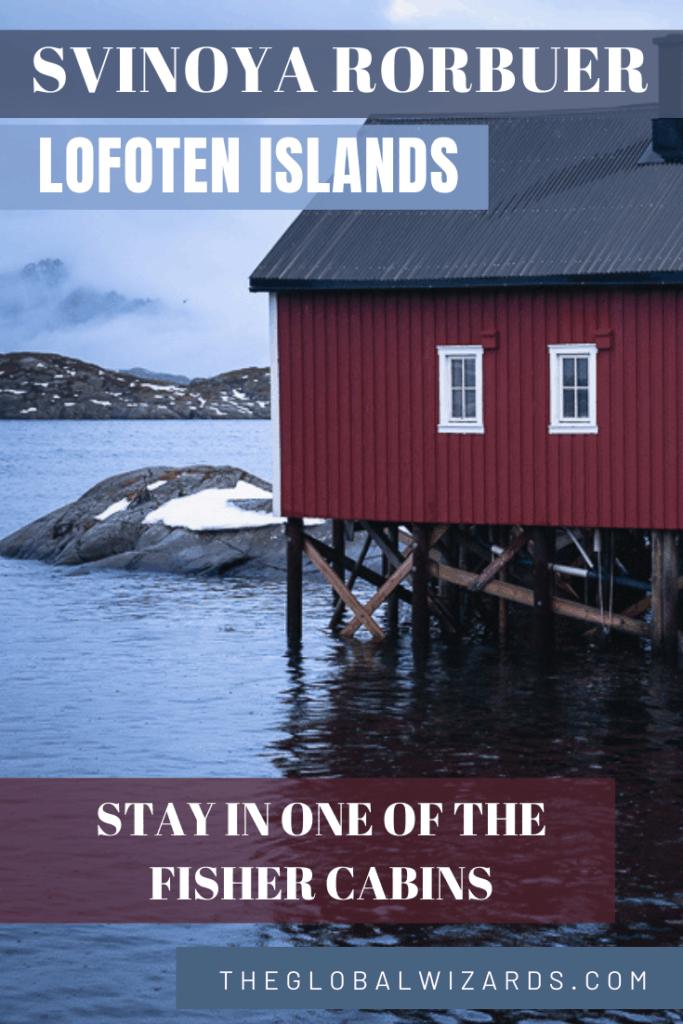 Red rorbu fisher cabins Svinoya Rorbuer Lofoten