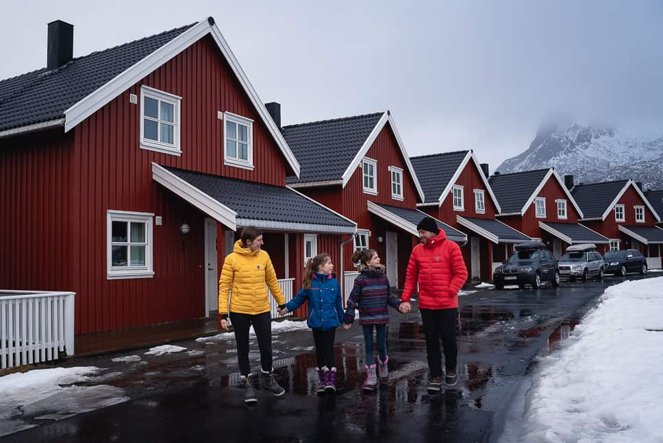 Rorbusuite XXL+ Svinøya Rorbuer Family Lofoten