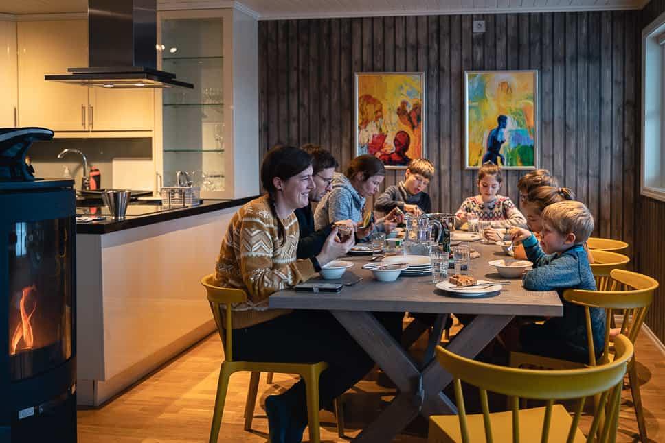 Rorbusuite XXL Family Group Stay Lofoten