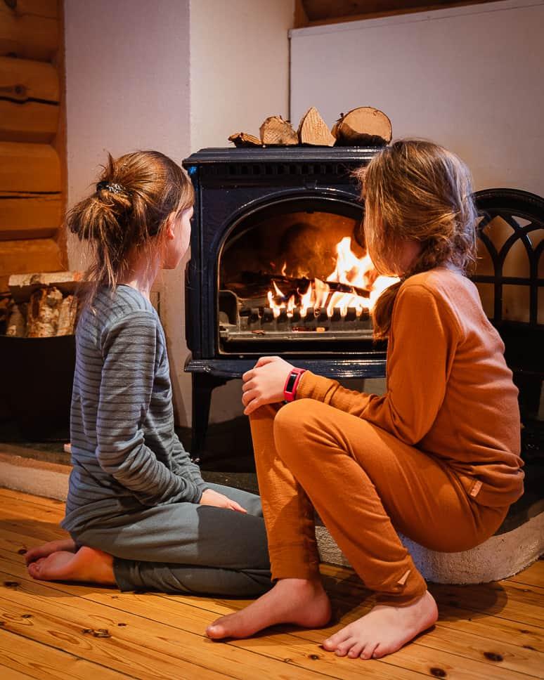 Merino wool underwear thermal Iceland Winter