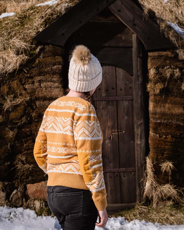Wool sweater clothing Icelandic Winter