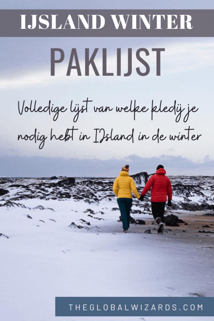 Winter inpaklijst IJsland Kleding