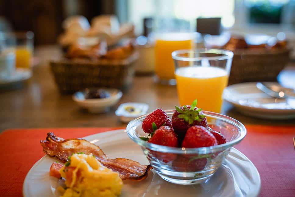 Ontbijt La Barriere De Transinne Hotel Ardennen