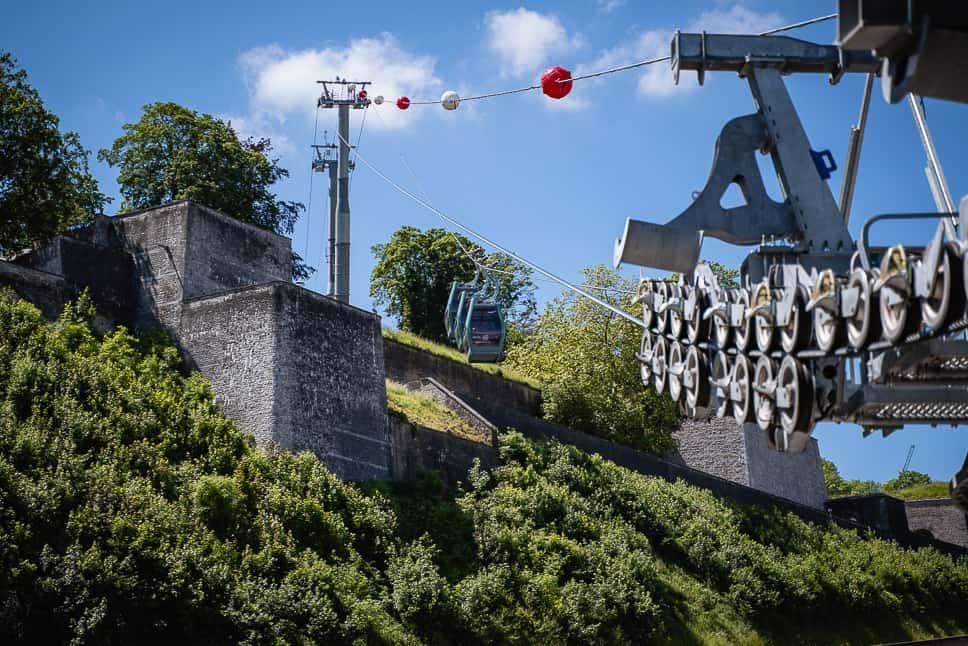 Kabelbaal Namen Wallonië Citadel
