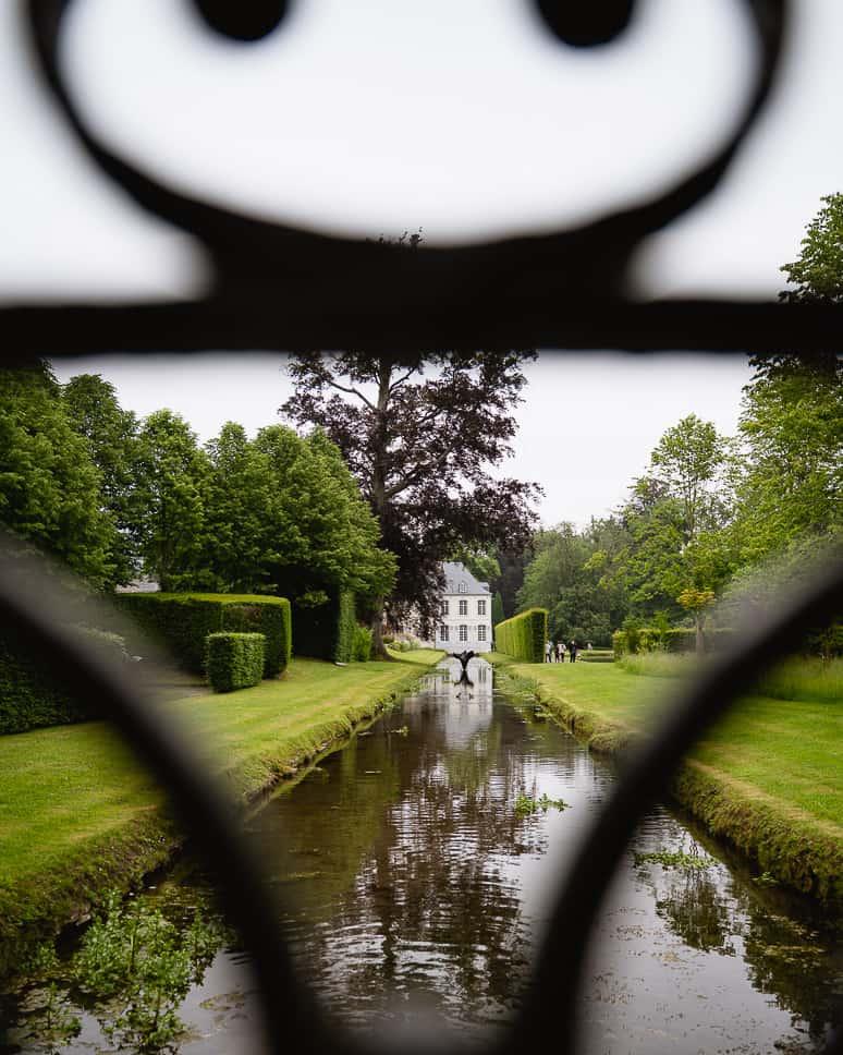 Watertuinen Annevoie Kasteel Gezin Uitstap Ardennen Wallonie