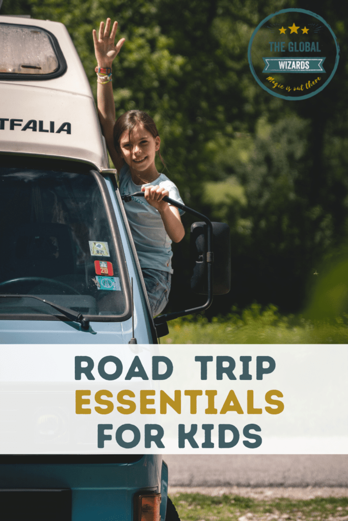 Road trip essentials for kids packing list