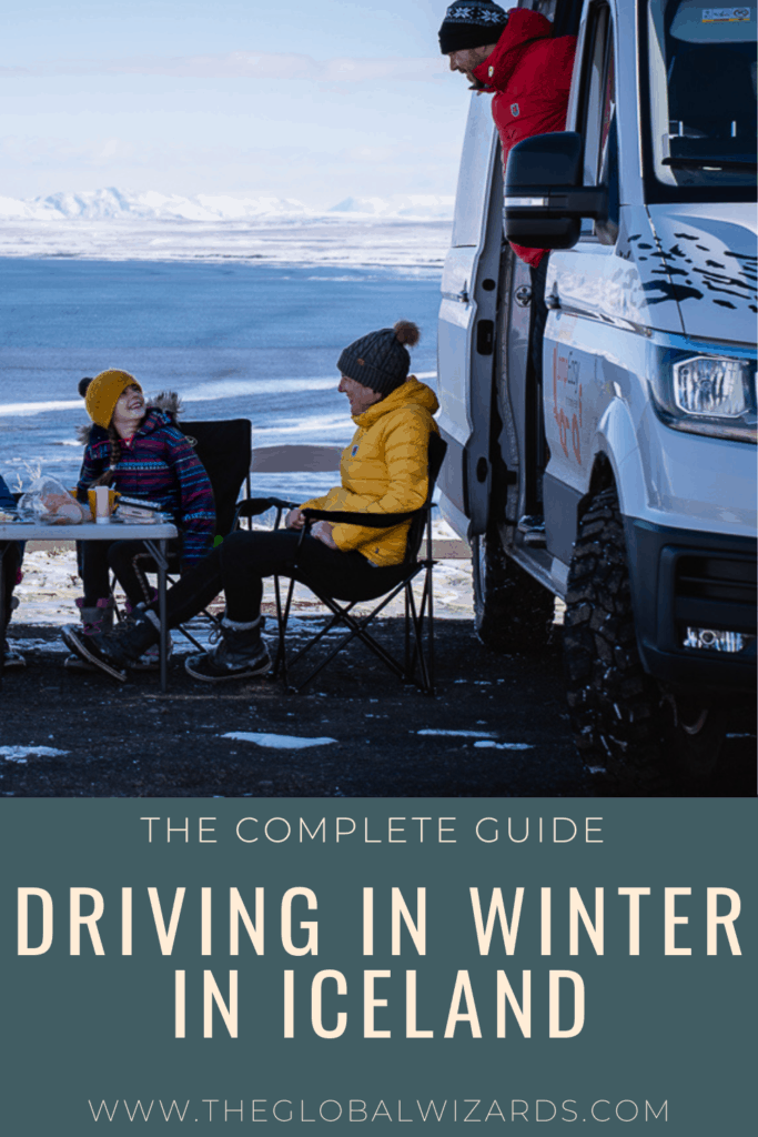 Driving in Iceland in winter guide
