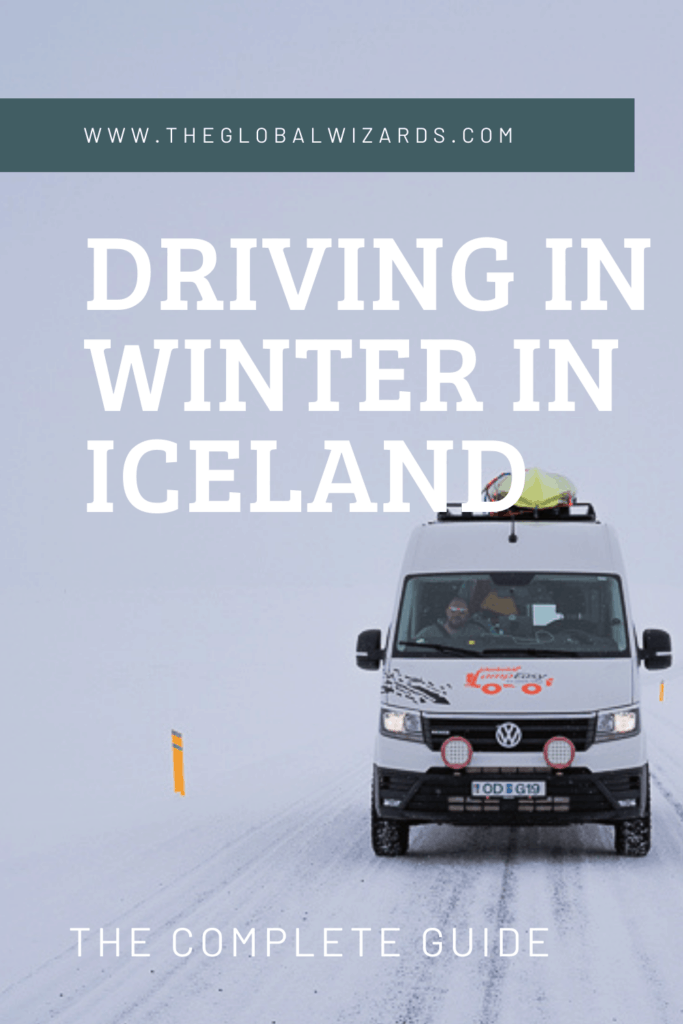 Driving in winter in Iceland guide