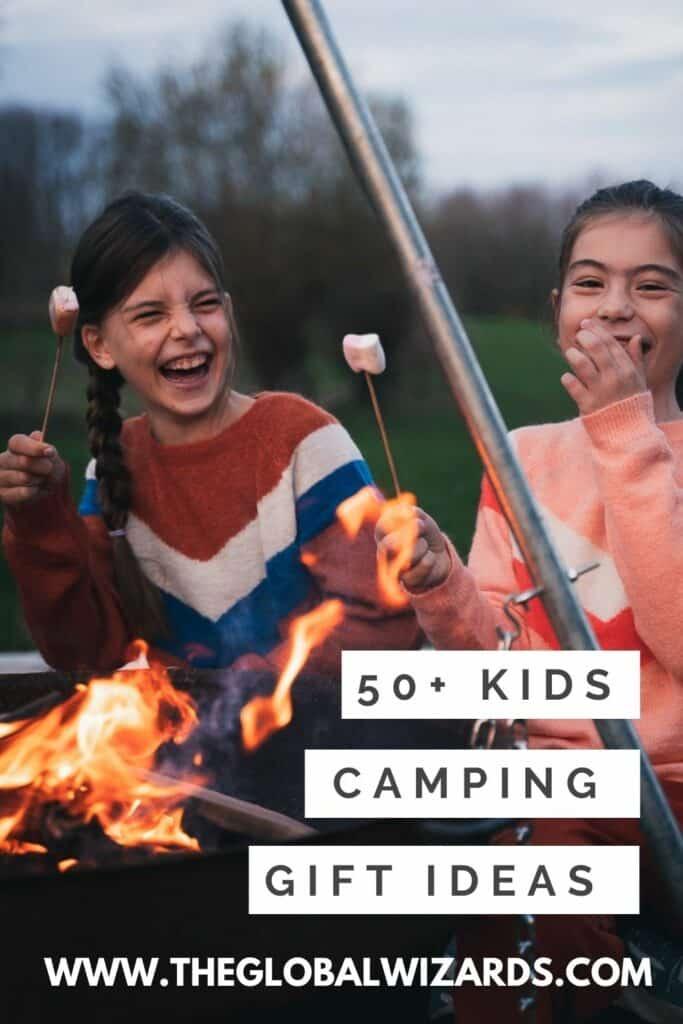 Kinderen kampeer cadeaus ideeën voor buiten
