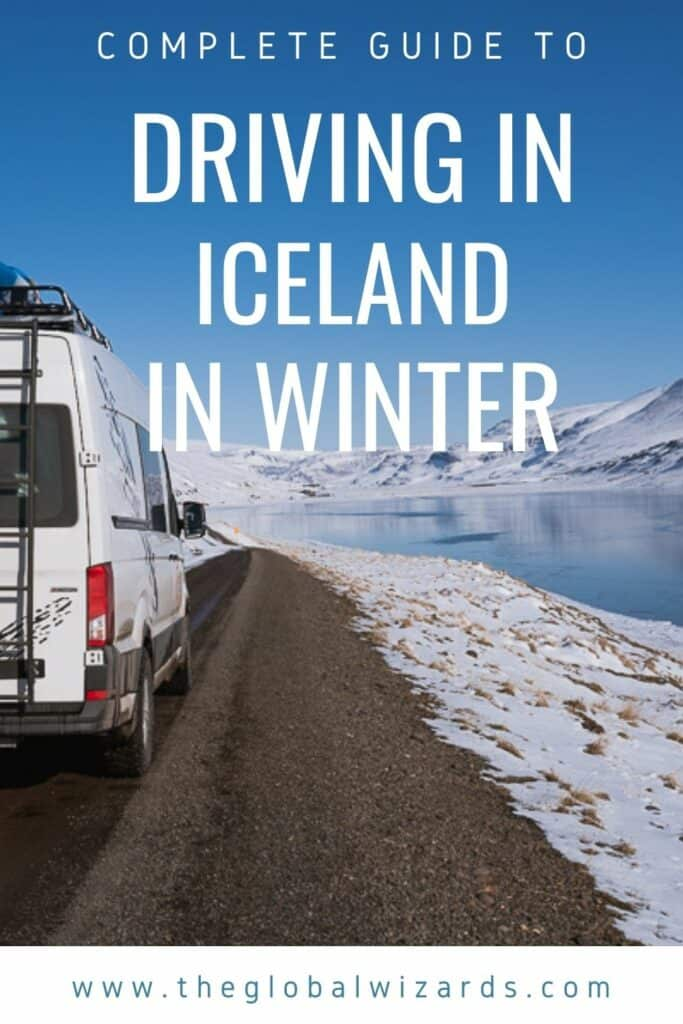 Guide to winter driving in Iceland
